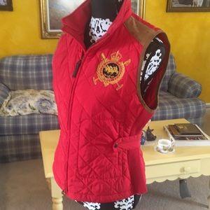 Ralph Lauren Sport Quilted Vest, Ladies L